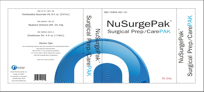 NuSurge Surgical Pak - Spectrum Medical
